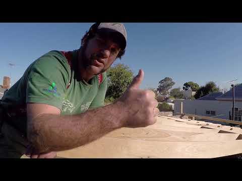how to straighten old joists & underfloor insulation