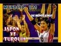 TURQUÍA vs JAPÓN- 5to Set Mundial U20 - 2019.