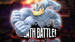 Machamp Bulks Up for DEATH BATTLE!