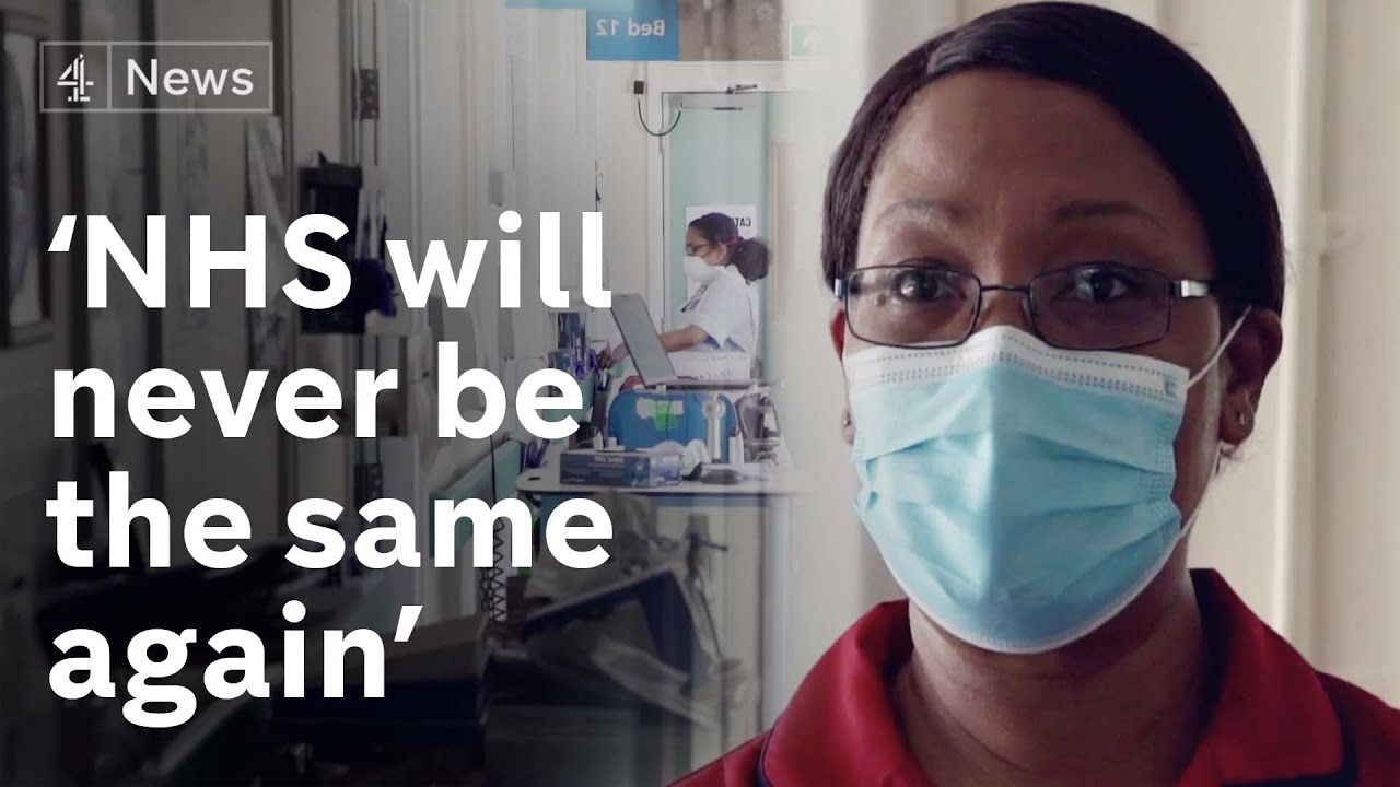 'NHS will never go back to how it was': Inside a UK coronavirus recovery ward
