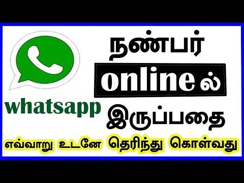 Whatsapp நண்பர் Online ல் இருப்பதை எவ்வாறு உடனே தெரிந்து கொள்வது   CAPTAIN GPM TAMIL