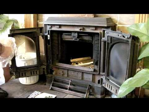 Set and light a Coal Fire Solid Fuel Stove Woodstove etc