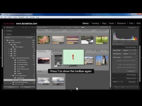 Find Your Missing Lightroom Panels, Tools, and More