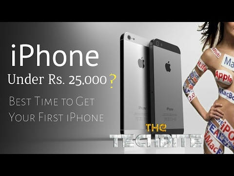 iPhone just under Rs 25,000/-/Best Time to Buy your First iPhone/ Now get iPhone in Cheapest Price