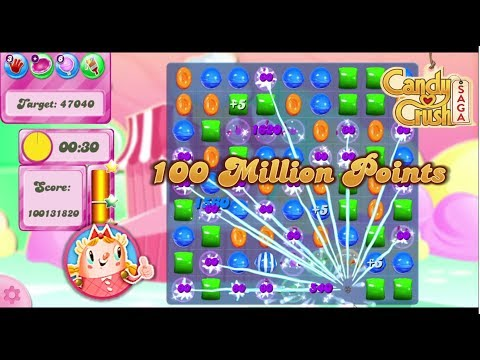 Candy Crush Saga 116 Million+ Score (Level 252) | 6 Hours Game Played Duration | 2017