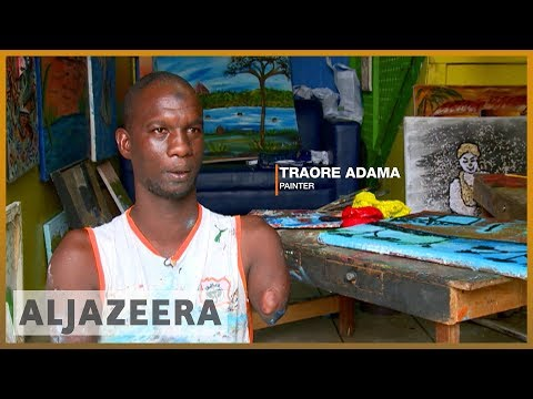 🇨🇮 ♿ 'In Africa, many people denigrate the disabled': Ivorian artist fights stigma | Al Jazeera