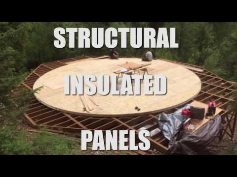 Shelter Designs Yurts : SIP floors