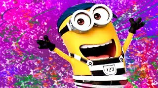 MINIONS PARTY HARD let
