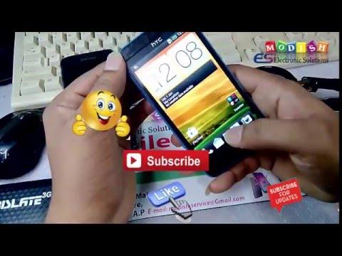 HTC Desire 501  Hard Reset  and Pattern  Lock      dual sim 603e