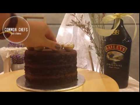 Common Chefs Chocolate and Baileys Cake