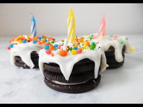 DIY Oreo Cookie Mini Cake