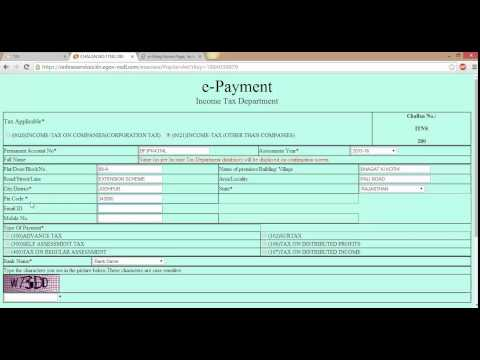 How to pay Advance tax online