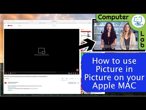 How to use Picture in Picture mode on the Mac
