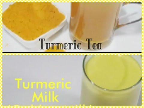 Quick Weight Loss With Turmeric Tea and Turmeric Milk/Fast Weight Loss Drinks Recipes / Fat Burn Dri