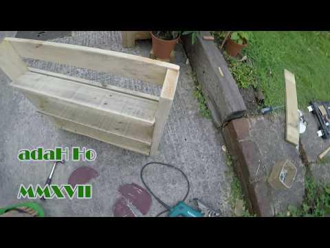 DIY Pallet Furniture / Shoe rack  vol1