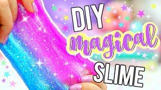 Diy Glitter Slime How To Make Magical Unicorn Slime
