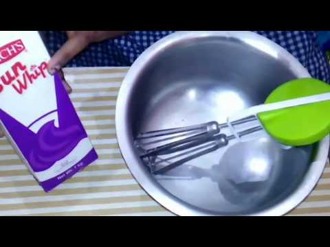 How to whip cream without electric mixer in hindi || how to whip cream at home || by Foodies Channel