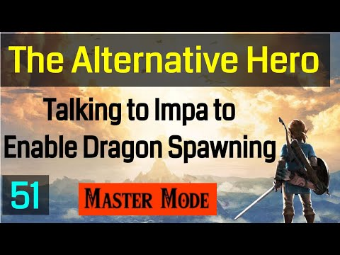 Master Mode Breath of the  Wild - Visiting Impa  So The Dragons Will Spawn - 051