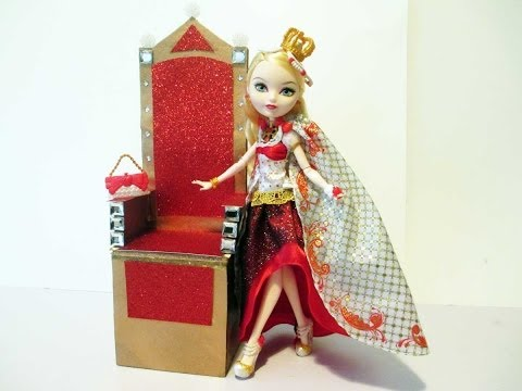 How To Make A Doll Throne/Ever After High