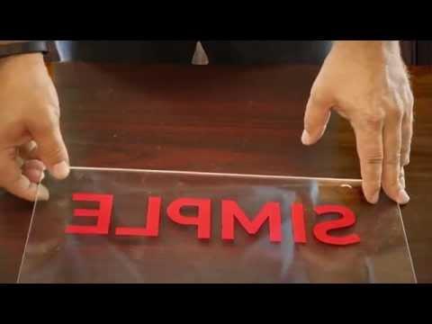 What is Reverse Cut Vinyl HD