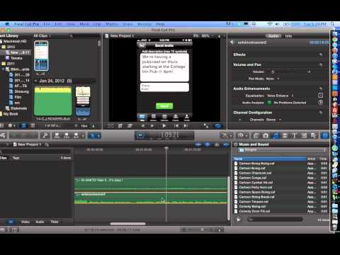 Final Cut Pro X Tutorial: How to Remove Background Noise from Audio