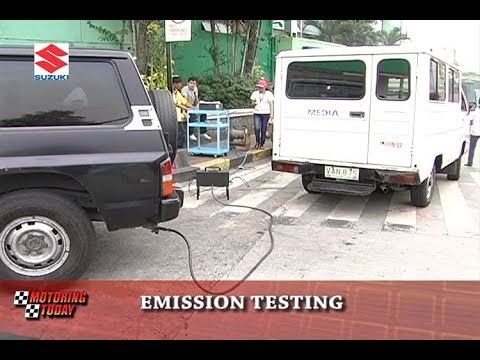 Emission Testing   Motoring Forum