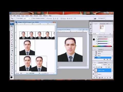 Tutorial How to create Rush Id Photo on photoshop Cs3