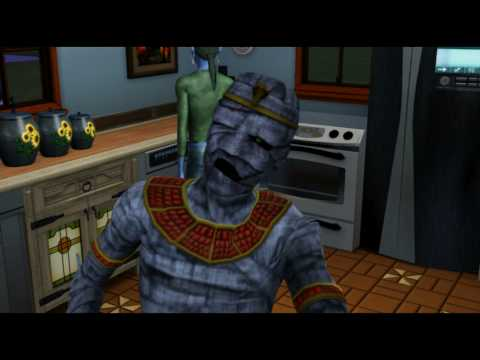 Sims 3 Adventures Machinima - Cooking With Simhotep
