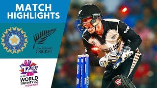 ICC #WT20 Cricket - New Zealand vs India Highlights