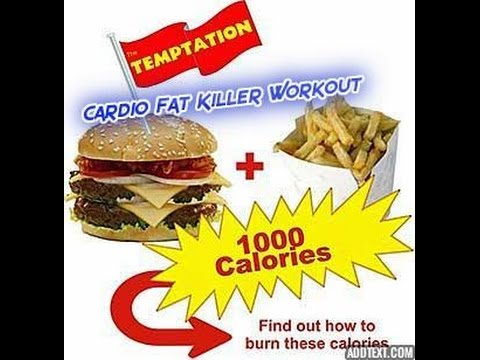 30 min cardio fat killer (burn 1000 calorie)