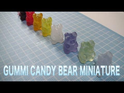 Gummi Candy Bear resin DIY  グミベアー製作記② スイーツデコ