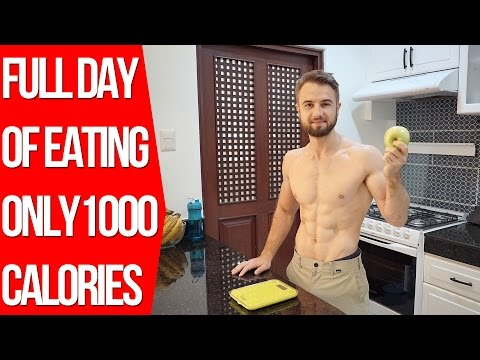 1000 Calories A Day - Intermittent Fasting Full Day of Eating