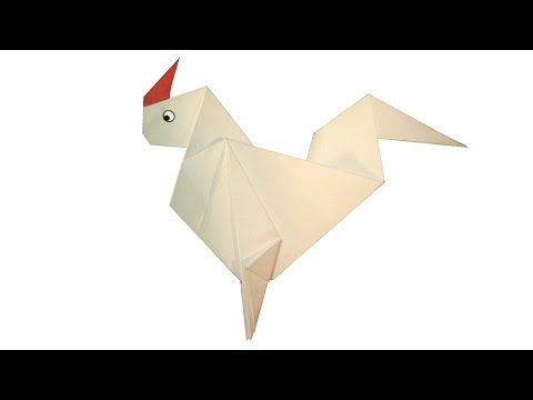How to Make Origami Cock