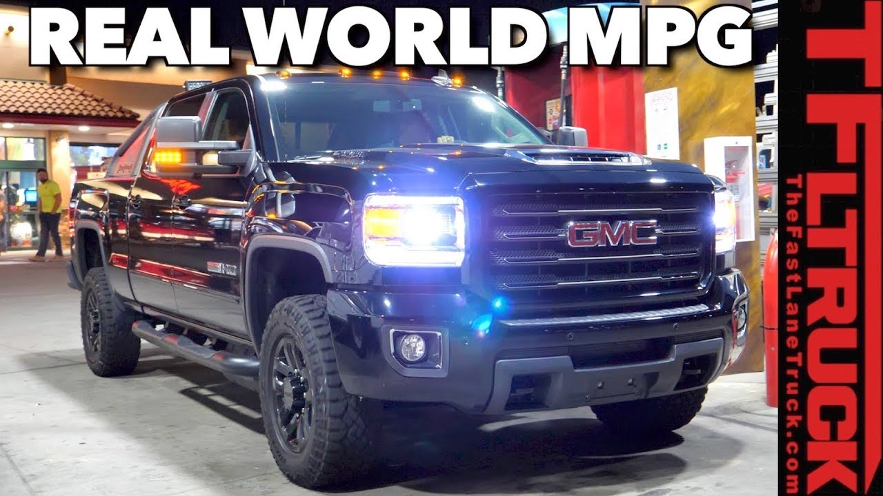 How Far Can You Go On A Tank of Diesel GMC Sierra HD Real World Test