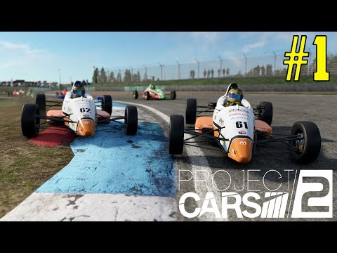 PROJECT CARS 2 Career Mode - PART 1 GREAT BATTLE FOR THE PODIUM!