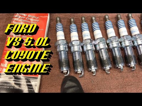 2011-2017 Ford F-150 & Mustang 5.0L Coyote Engine: Spark Plug Replacement Procedure
