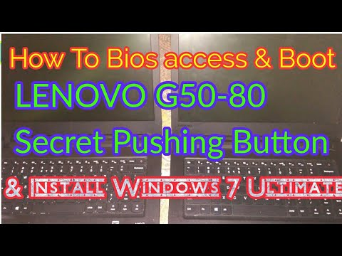 How to Boot Lenovo G50-80 laptop booting and windows 7 install USB flash drive in Hindi.