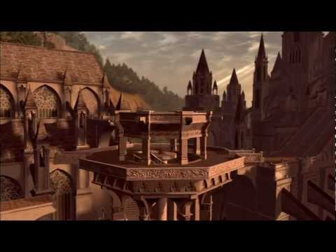 Anor Londo - actvating the rotating tower