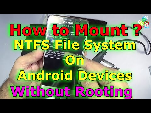 How to Mount NTFS Partition on Android without Rooting???