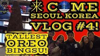 Download 来 come Seoul, S.Korea Travel VLOG #4 AGAIN 韩国 汉城| Tallest Oreo Bingsu | [ Bulbman VLOG ] Video