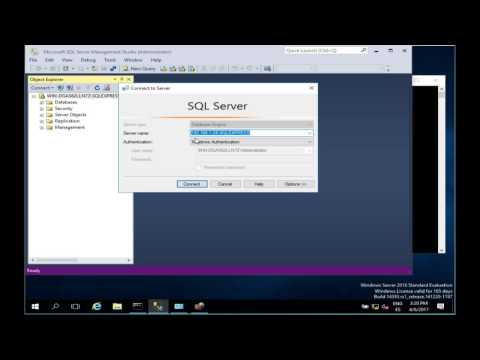 How to configure a remote connection with Microsoft SQL Server