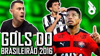 TOP 10 GOLS DO BRASILEIRÃO 2016 - FRED +10