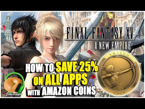 How to SAVE MONEY on Mobile Games & FINAL FANTASY New Empire
