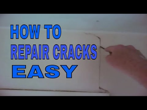 How to get rid of cracks in walls and ceilings