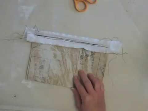 Sewing Paper Gift Bags Workshop Sampler