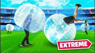 CLICK PLAYS BUBBLE SOCCER! (gone wrong)