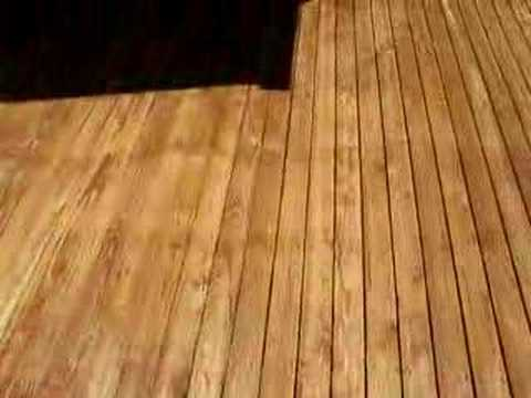 Cedar Deck with Problems