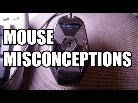 Gaming Mouse Misconceptions: DPI, Smoothing, Acceleration