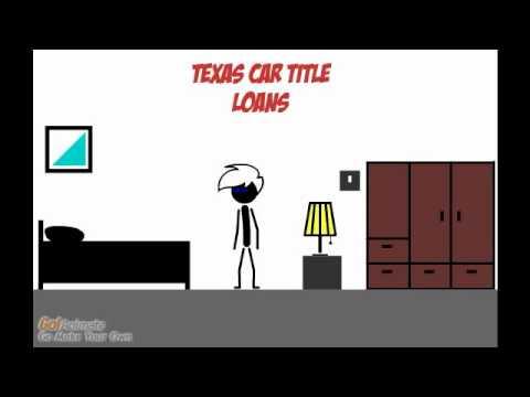 Texas Car Title Loans Part 2