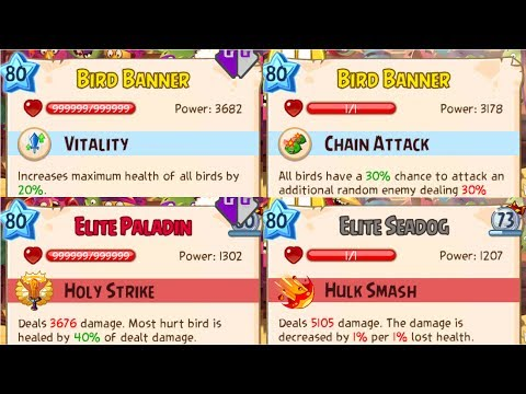 Angry Birds Epic Rpg New HACK Infinite Health God Mode High Attack